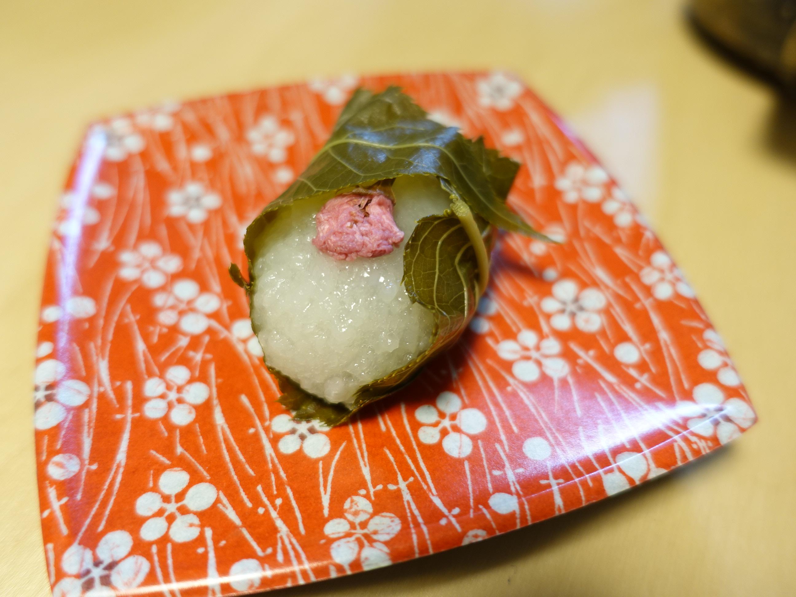 米屋の桜餅